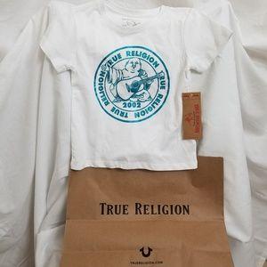 True Religion girls 6 white